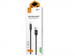 قیمت کابل شارژ و انتقال داده 1.5 متری تایپ سی مک دودو MCDODO Auto Disconnect Type-C Data Cable 1.5M CA-617