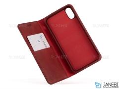 کیف چرمی آیفون Nuoku Leather Case iPhone X/XS