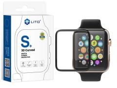 محافظ صفحه نمایش شیشه ای لیتو اپل واچ Lito S+ 3D Protector Apple Watch 44mm