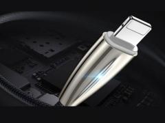 کابل شارژ و انتقال داده لایتنینگ دایوی Divi P413-18 Surfboard Lightning Cable 1.8m