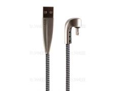 کابل شارژ و انتقال داده لایتنینگ دایوی Divi P424-18 Elbow-U S4 Lightning Cable 1.8m