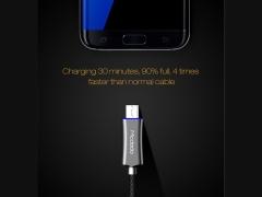 کابل شارژ سریع و انتقال داده میکرو یو اس بی مک دودو Mcdodo CA-289 Auto Power Off MicroUSB Cable 1.5m