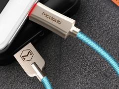 کابل شارژ و انتقال داده هوشمند 1.5 متری میکرو یو اس بی مک دودو Mcdodo Auto Power Off MicroUSB 1.5M CA-289 دارای کیفیت ساخت بالا