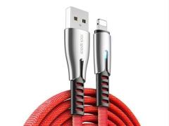 کابل شارژ و انتقال داده لایتنینگ راک Rockspace M2 Lightning RCB0670 Cable 1.2M