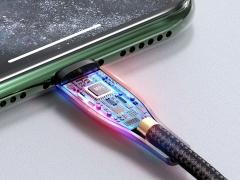 کابل شارژ سریع و انتقال داده تایپ سی به لایتنینگ رلیکو RELIQO Lightning to Type-C 1.2M RCA-650  دارای تراشه کنترل