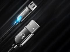 کابل هوشمند شارژ سریع و انتقال داده میکرو یو اس بی مک دودو Mcdodo CA-620 Auto Power Off MicroUSB Cable 1M