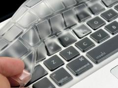 محافظ شفاف کیبورد مک بوک Keyboard Crystal Guard Transparent MacBook
