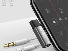 مبدل لایتنینگ به لایتنینگ و صدا مک دودو Mcdodo Lightning to 3.5mm Audio Adapter CA-621