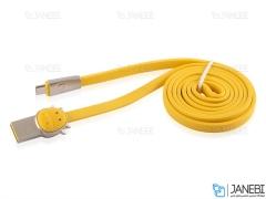 کابل میکرو یو اس بی طرحدار راک Rockspace Cow Micro USB Cable 1M