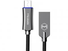 کابل شارژ و انتقال داده هوشمند 1.5 متری میکرو یو اس بی مک دودو Mcdodo Auto Power Off MicroUSB 1.5M CA-289