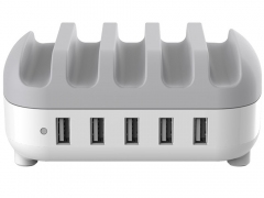 داک شارژ هوشمند 5 پورت اوریکو Orico DUC-5P 5 Ports USB Smart Charging Station