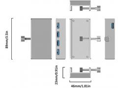 هاب یو اس بی 4 پورت اوریکو Orico MH4PU 4Port USB Hub