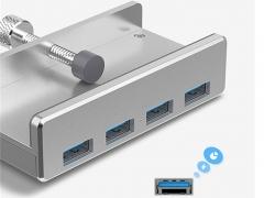 هاب یو اس بی 4 پورت اوریکو Orico MH4PU 4 Port USB 3.0 Hub قابلیت شارژ و انتقال داده