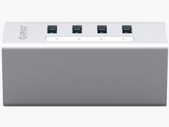 هاب آداپتور یو اس بی 4 پورت اوریکو Orico A3H4-U3 USB3.0 Hub دارای بدنه آلومینیومی