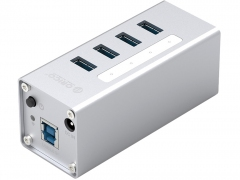 هاب آداپتور یو اس بی 4 پورت اوریکو Orico A3H4-U3 USB3.0 Hub