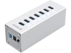 هاب آداپتور یو اس بی 7 پورت اوریکو Orico A3H7 USB3.0 Hub