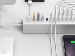 هاب آداپتور 13 2 پورت یو اس بی 3.0 اوریکو Orico A3H13-P2 13 2 Port USB3.0 Hub دارای کیفیت ساخت بالا