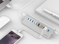 هاب یو اس بی 10 پورت اوریکو Orico M3H10 10 Port USB 3.0 Hubدارای طراحی زیبا