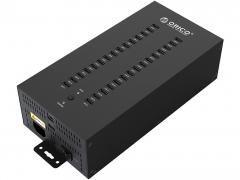 هاب صنعتی 30 پورت یو اس بی 2.0 اوریکو Orico IH30P 30Port USB 2.0 Hub دارای طراحی زیبا
