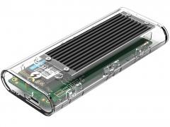 قاب اس اس دی تاندربولت 3 اوریکو Orico TCM2T3-G40 NVMe M.2 دارای طراحی شیک و شفاف
