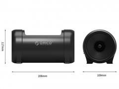داک هارد درایو و اس اس دی اوریکو Orico 5628US3-C دارای ابعاد مطلوب