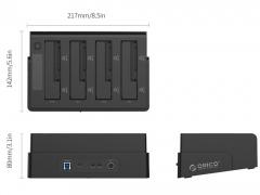 داک هارد دیسک اینترنال اوریکو Orico 6648US3-C Hard Drive Dock