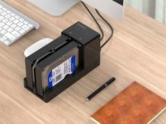 قاب هارد درایو 2.5/3.5 اینچی با قابلیت تکثیر اوریکو Orico 6528US3-C Hard Drive Enclosure with Duplicator