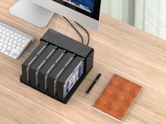 قاب هارد درایو 2.5/3.5 اینچی با قابلیت تکثیر اوریکو Orico 6558US3-C Hard Drive Enclosure with Duplicator