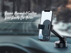 پایه نگهدارنده گوشی بیسوس Baseus Simplicity Gravity Car Mount Holder
