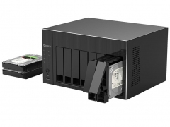 ذخیره ساز تحت شبکه 8Bay با 8گیگ رم اوریکو Orico OS800
