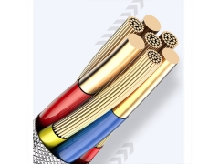 کابل شارژ و انتقال داده لایتنینگ توتو Totu Soft Color Series Lightning Cable 1.2m
