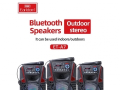 اسپیکر بلوتوث قابل حمل میکروفون دار ارلدام Earldom ET-A7 Portable Speaker