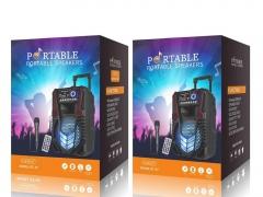 خرید اسپیکر بلوتوث قابل حمل همراه با میکروفون ارلدام مدل Earldom ET-A7 Portable Speaker With 1 Mic از جانبی