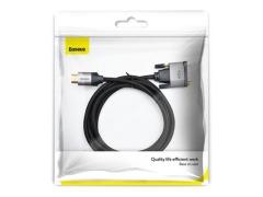 کابل اچ دی ام آی به وی جی ای بیسوس Baseus Enjoyment HDMI To VGA Cable 2m