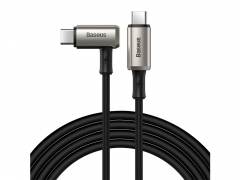 کابل شارژ سریع و انتقال داده تایپ سی به تایپ سی بیسوس Baseus Hammer Cable Type-c PD 1.5M