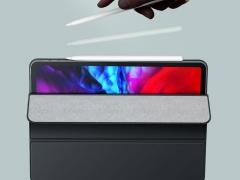 کاور چرمی آیپد پرو 11 اینچ مغناطیسی بیسوس Baseus Magnetic Leather Case for iPad pro (2020) بدون تداخل با آهنربای آیپد