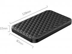 باکس هارد درایو 2.5 اینچی اوریکو Orico 2520U3 دارای ابعاد مناسب