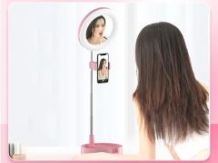 رینگ لایت رومیزی مخصوص آرایش توتو Totu Live Makeup Multipurpose Desk Lamp G3