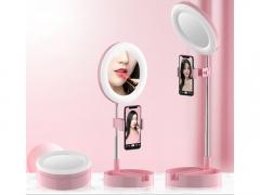 رینگ لایت رومیزی مخصوص آرایش توتو Totu Live Makeup Multipurpose Desk Lamp G3 دارای کیفت ساخت بالا
