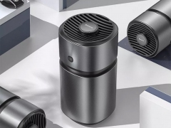 تصفیه کننده و خوشبو کننده هوای خودرو قابل شارژ بیسوس Baseus Fan Air Frshener Vehicles Air Battery Version