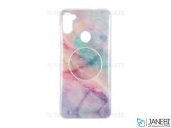 قاب ژله ای و پاپ سوکت سامسونگ Kenzo PopSocket Case Samsung Galaxy A11