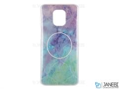 قاب ژله ای و پاپ سوکت شیائومی Kenzo PopSocket Case Xiaomi Mi Note 9S