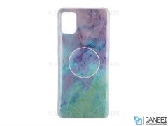 قاب ژله ای و پاپ سوکت سامسونگ Kenzo PopSocket Case Samsung Galaxy A51