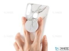 قاب ژله ای و پاپ سوکت سامسونگ Kenzo PopSocket Case Samsung Galaxy A20s