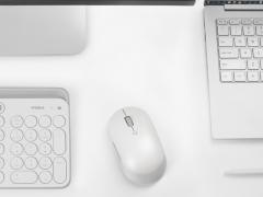 موس بیسیم سایلنت شیائومی Xiaomi Mi Silent Mouse WXSMSBMW02 در رنگ سفید