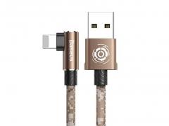 کابل چریکی لایتنینگ بیسوس Baseus Camouflage Lightning Cable 1M  در رنگ مسی