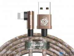 کابل چریکی لایتنینگ بیسوس Baseus Camouflage Lightning Cable 1M