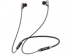 هندزفری بیسیم دورگردنی لنوو Lenovo HE08 Bluetooth Neckband In Ear Earbuds