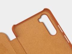 کیف چرمی نیلکین وان پلاس Nillkin Qin Leather Case OnePlus Nord