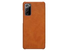 کیف چرمی نیلکین سامسونگ Nillkin Qin Leather Case Samsung Galaxy S20 FE 2020